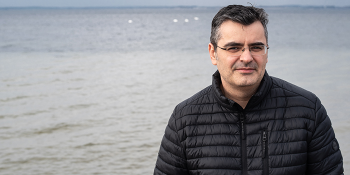 Photo of the new professor at DTU Wind Energy, Nicolaos Cutululis